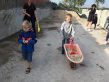 BLW B naar de kinderboerderij