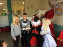De Sint is op bezoek in RoWc!