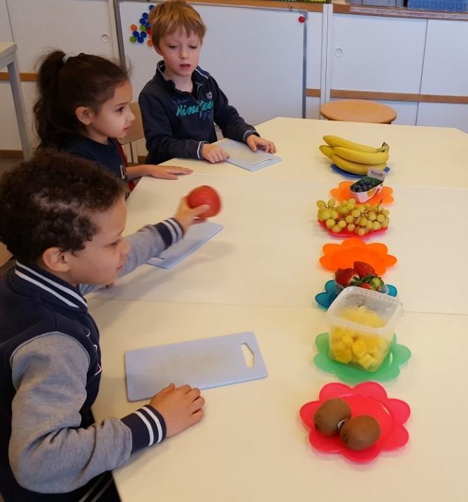 Hedendaags Thema gezonde voeding : Fruitsaté's maken! – mpi kompas OL-87